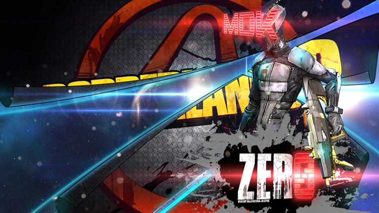 Borderlands 2 Wallpaper - Zero