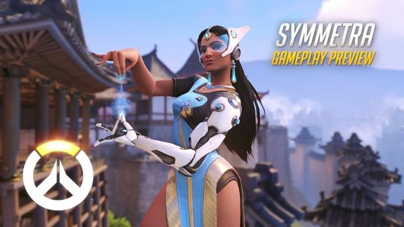 Overwatch - Symmetra Gameplay Preview