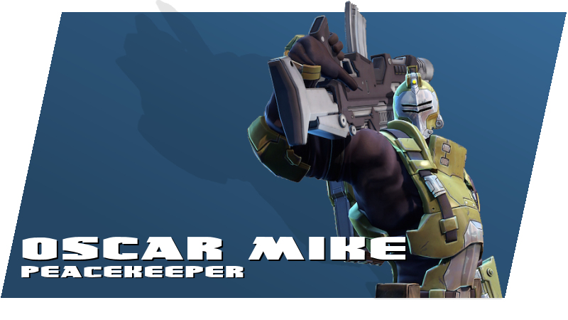 Battleborn - Oscar Mike (Peacekeeper)