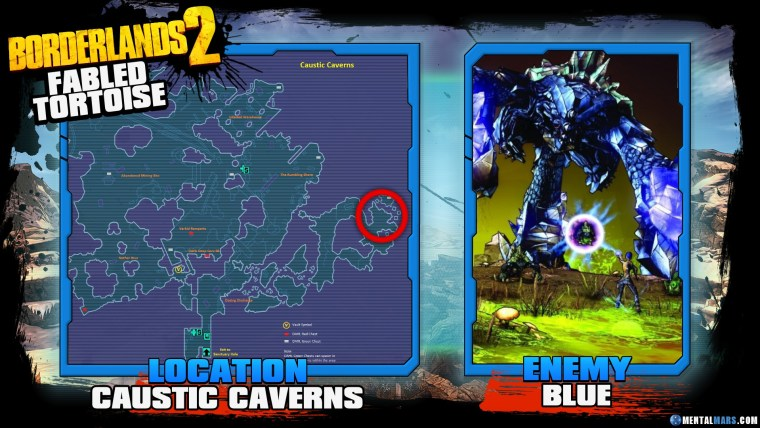 Borderlands 2 Legendary Fabled Tortoise Location Guide