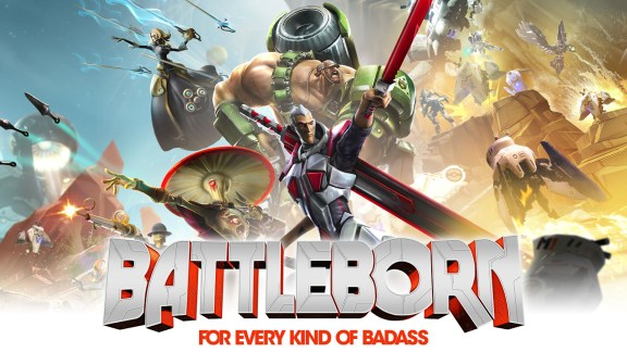 Battleborn Hero Art