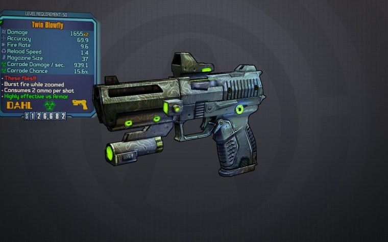 BLTPS Legendary Pistol - Blowfly