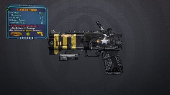 BLTPS Legendary Pistol - Fragnum