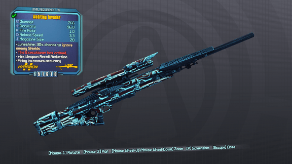 Invader - Borderlands Legendary Sniper