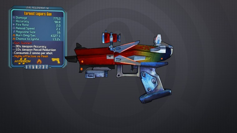 BLTPS Legendary Pistol - Logan's Gun