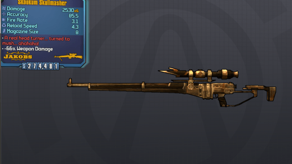 Skullmasher - Borderlands Legendary Sniper