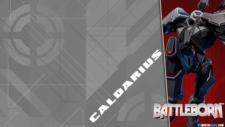 Battleborn Blade Wallpaper - Caldarius