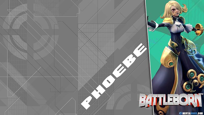 Battleborn Blade Wallpaper - Phoebe