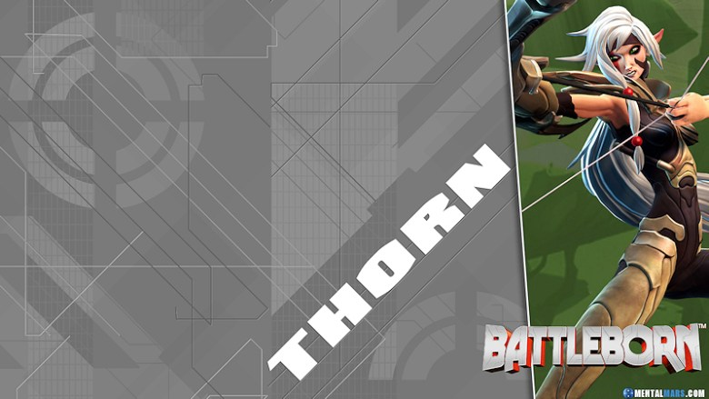 Battleborn Blade Wallpaper - Thorn