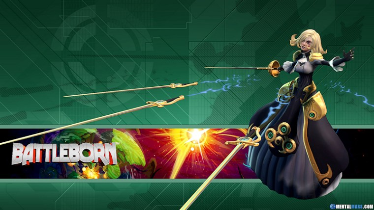 Battleborn Hero Wallpaper - Phoebe