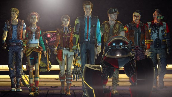 Tales from the Borderlands right stuff screenshot
