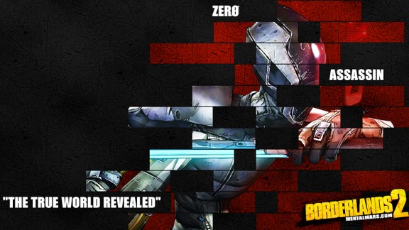 Borderlands 2 Zero Legacy Wallpaper