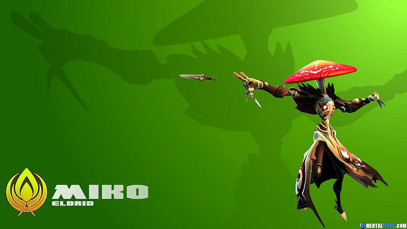 Battleborn Cool Wallpaper Miko