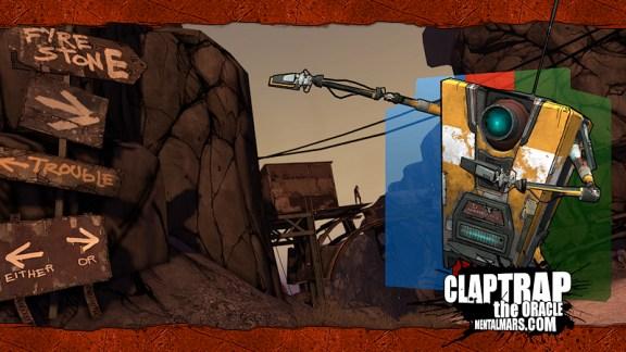 Borderlands Landscape Wallpaper - Claptrap