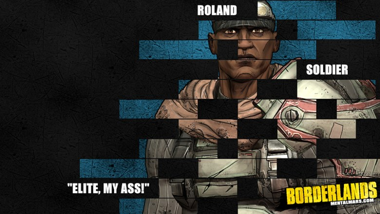 Borderlands Legacy Wallpaper - Roland