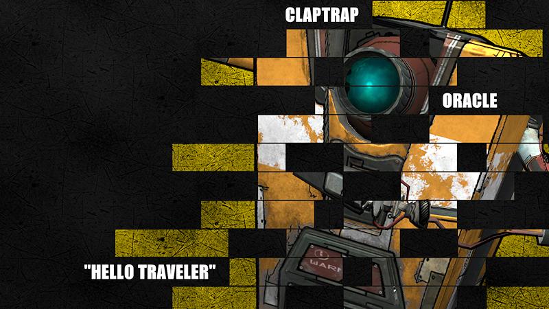 Borderlands Legacy Wallpaper - Claptrap