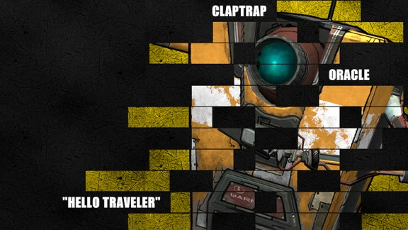 Borderlands Legacy Wallpaper - Claptrap