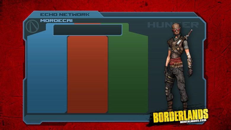 Borderlands - Mordecai Skill Tree Wallpaper