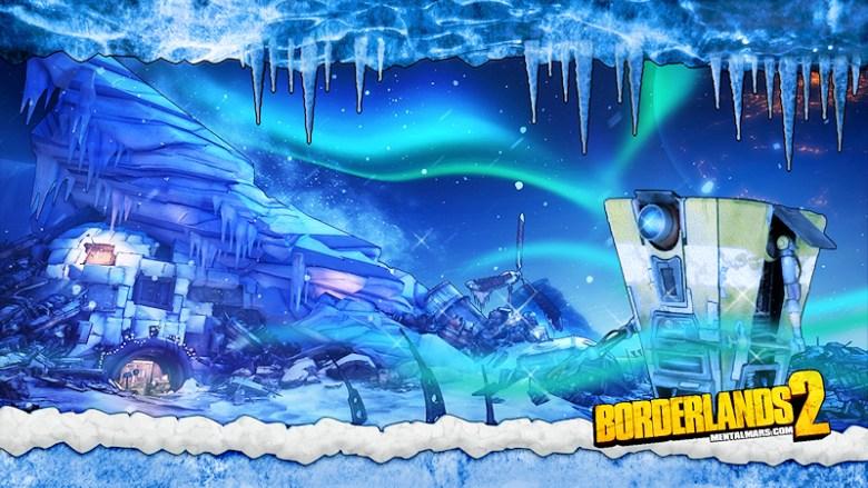 Borderlands 2 Windshear Waste Wallpaper - Claptrap