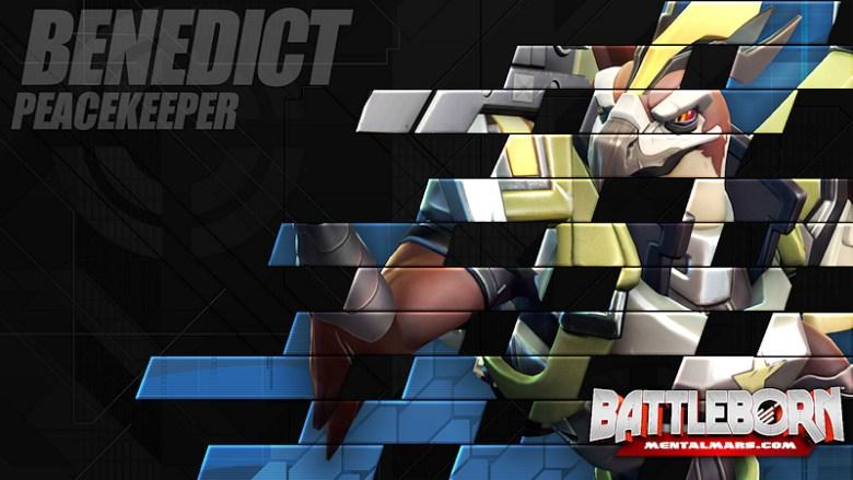 Battleborn Champion Wallpaper - Benedict