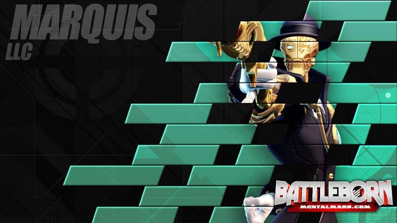 Battleborn Champion Wallpaper - Marquis