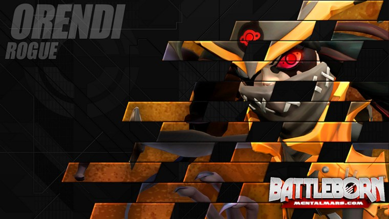 Battleborn Champion Wallpaper - Orendi