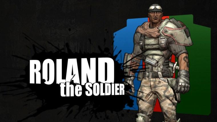 Borderlands - Roland Profile Card