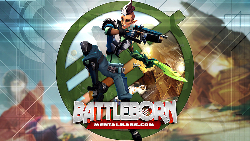 Battleborn Legends Wallpaper - Mellka