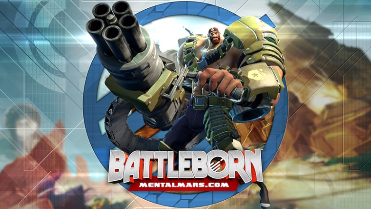 Battleborn Legends Wallpaper - Montana