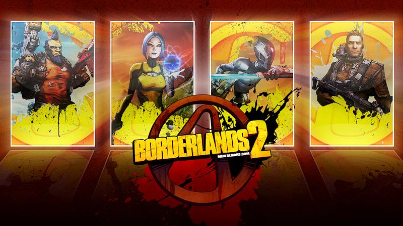 Borderlands 2 Mirror Wallpaper