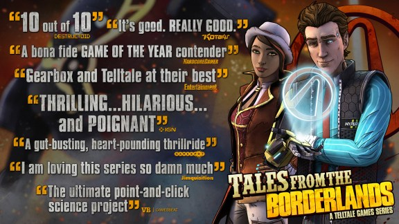Tales from the Borderlands Accolades