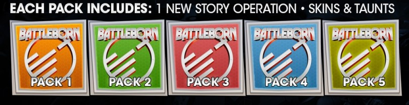 Battleborn season pass packs