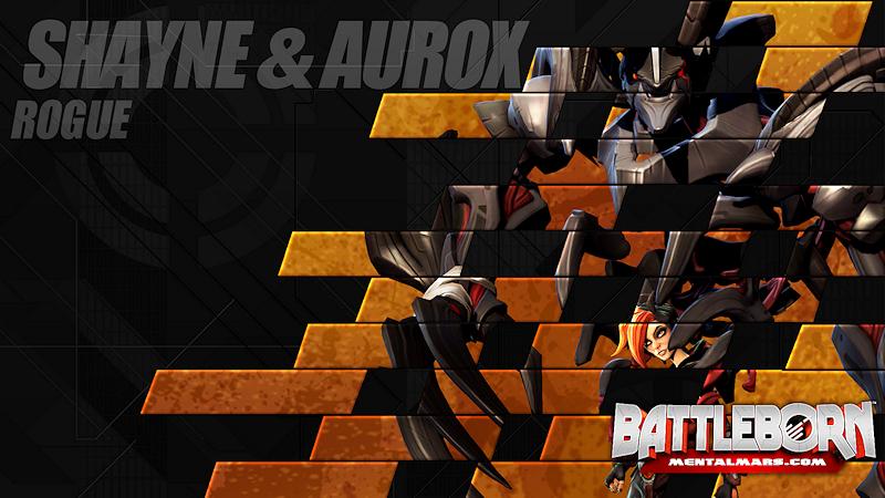 Battleborn Champion Wallpaper - Shayne & Aurox