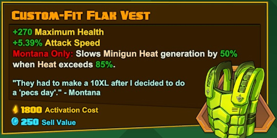 Montana - Custom-Fit Flak Vest