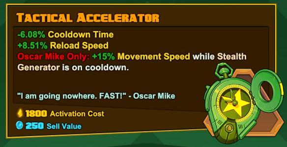 Oscar Mike - Tactical Accelerator