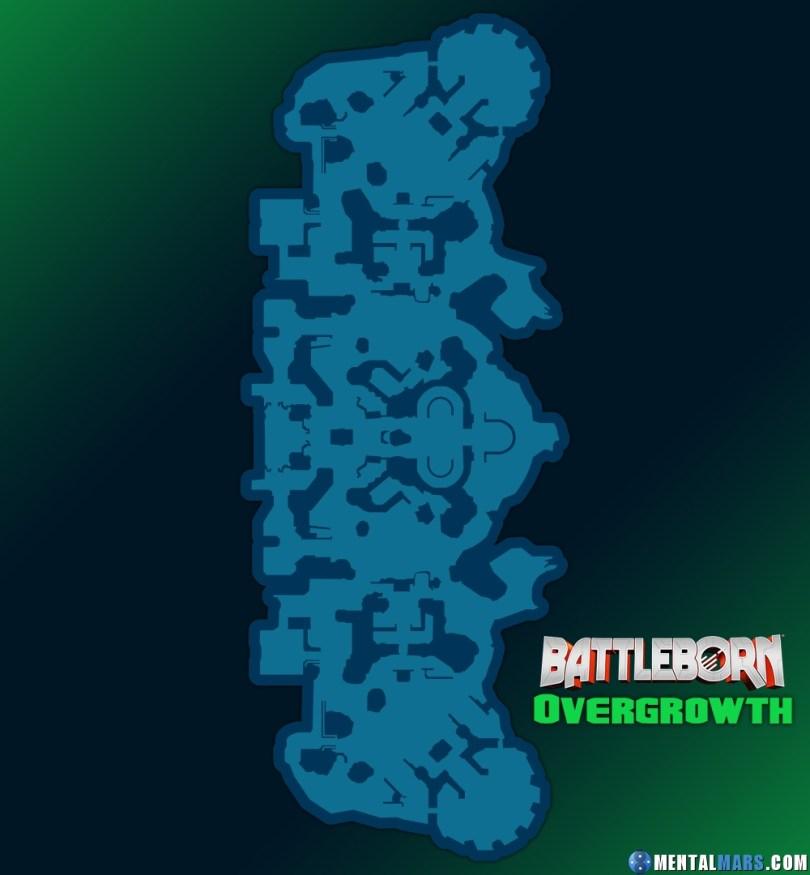 Battleborn Overgrowth Large Map