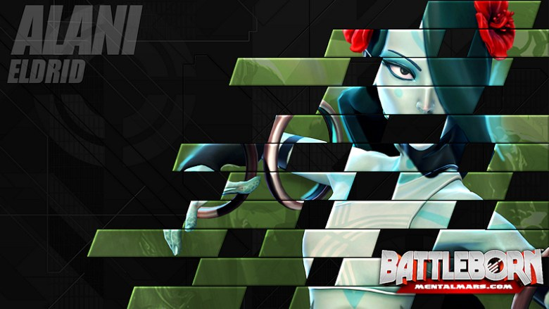 Battleborn Champion Wallpaper - Alani