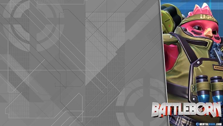 Battleborn Blade Wallpaper - Ernest