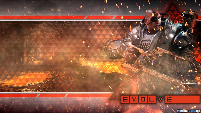 Evolve Wallpaper - Blitz Markov