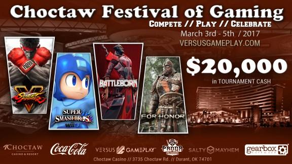 choctaw festival of gaming battleborn e-sports tournament
