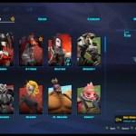 Battleborn New Character Roster UI