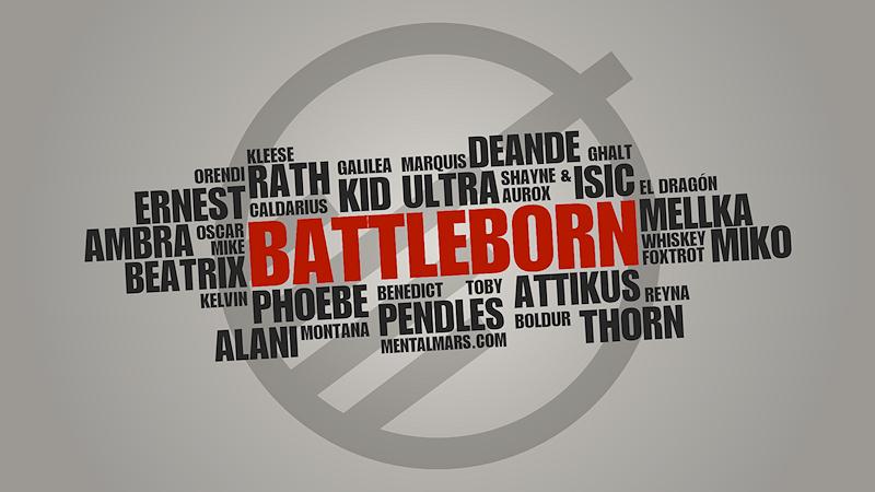 Battleborn Typography Wallpaper