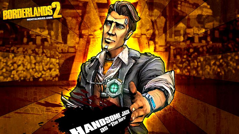 Handsome Jack The Hero Wallpaper - Borderlands 2