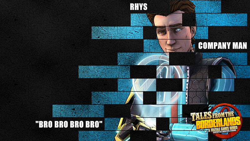 Rhys Legacy Wallpaper - Tales from the Borderlands