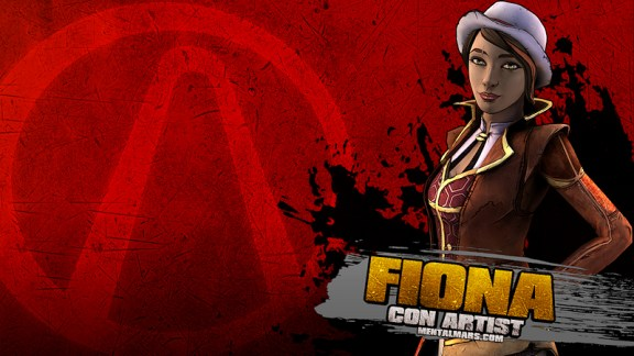 Fiona Splatter Wallpaper - Tales from the Borderlands