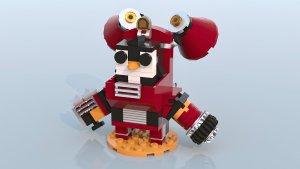 Toby - Battleborn Lego