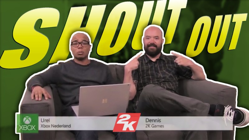 2K Dennis Shout Out MentalMars at Xbox NL