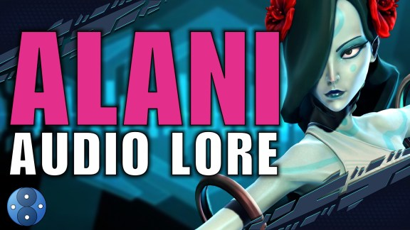 Alani Audio Lore 2 - Time Blurs in the Depths