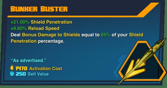 Bunker Buster - Battleborn Legendary Gear
