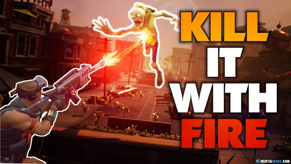 Fortnite - Elemental Weapons Types - Kill it with fire
